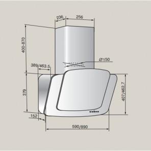 Teka DCA 90 HP IVORY