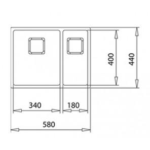 Teka FLEXLINEA RS15 2B 580