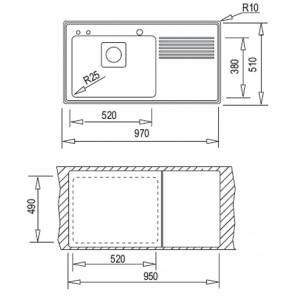 Teka Frame 1B 1D Plus