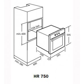 Teka HR 550 Antracite B